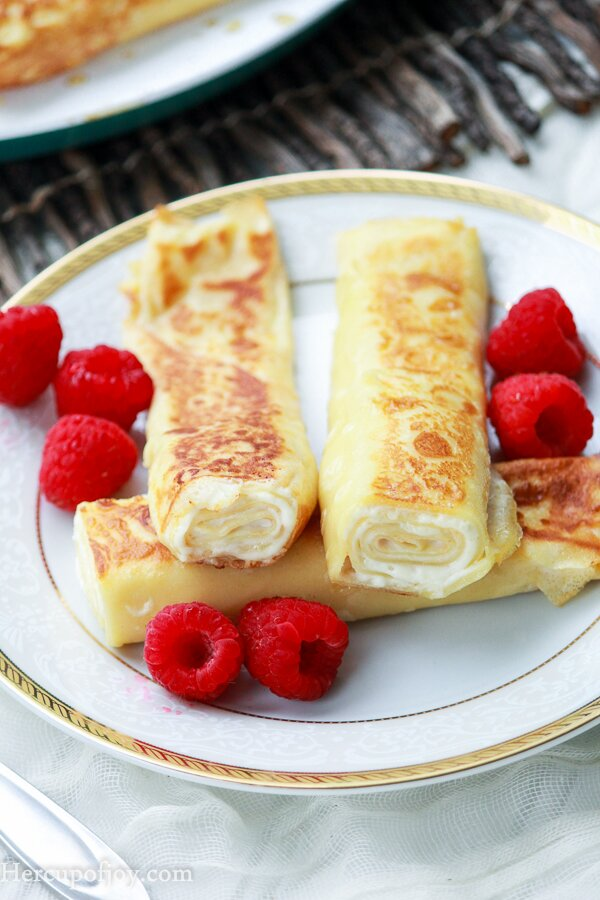 how to make crepe filling without cream cheese