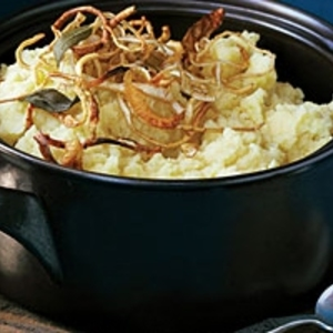 Mashed Potatoes and Parsnips with Crisp Root Vegetable Strips recipes