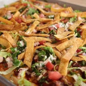 Chicken Taco Meat Pizza