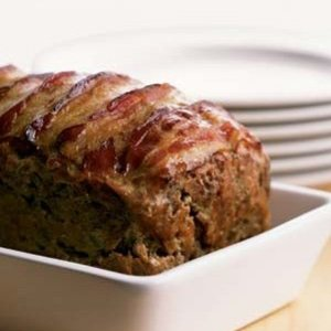 Meat Loaf With Bacon