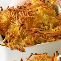 Seafood Bake with Crispy Hash Brown Topping recipes